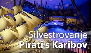 Silvestrovanje s pirati s Karibov